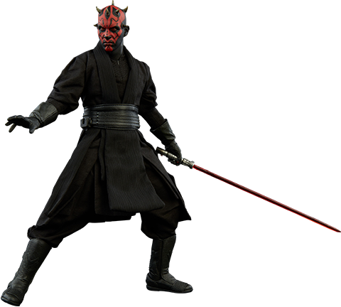 Sideshow Collectibles Darth Maul Duel on Naboo Sixth Scale Figure