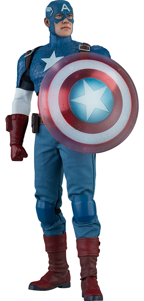 Sideshow Collectibles Captain America Sixth Scale Figure