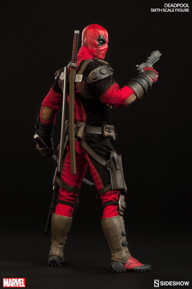 1:6 Scale Figure Sideshow Collectibles Free Shipping! Deadpool