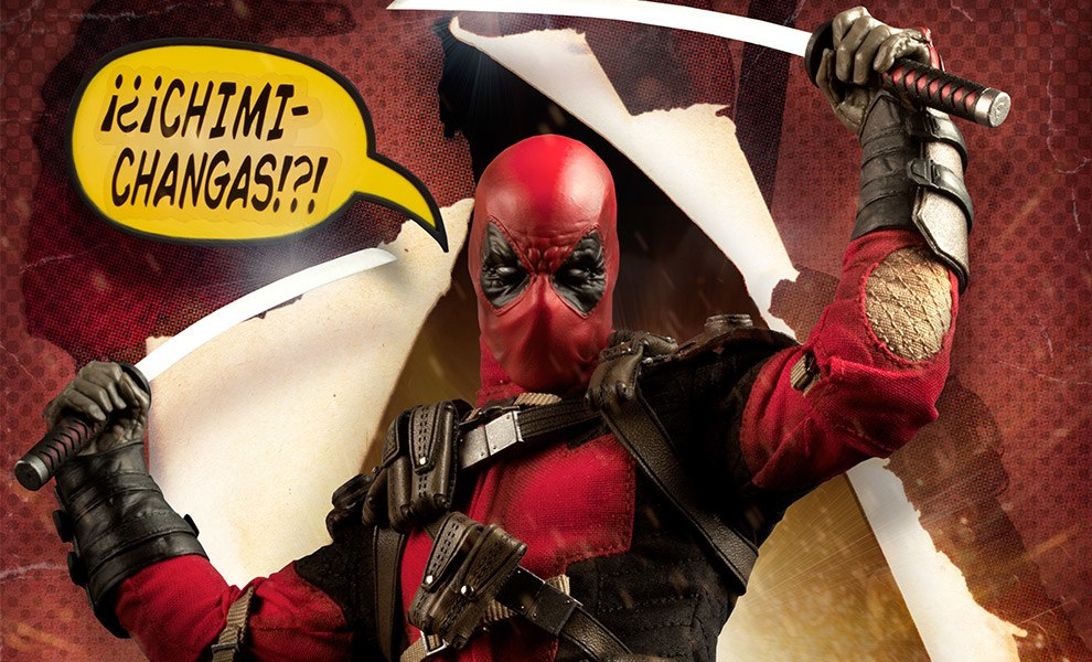 Gallery Feature Image of Deadpool Sixth Scale Figure - Click to open image gallery