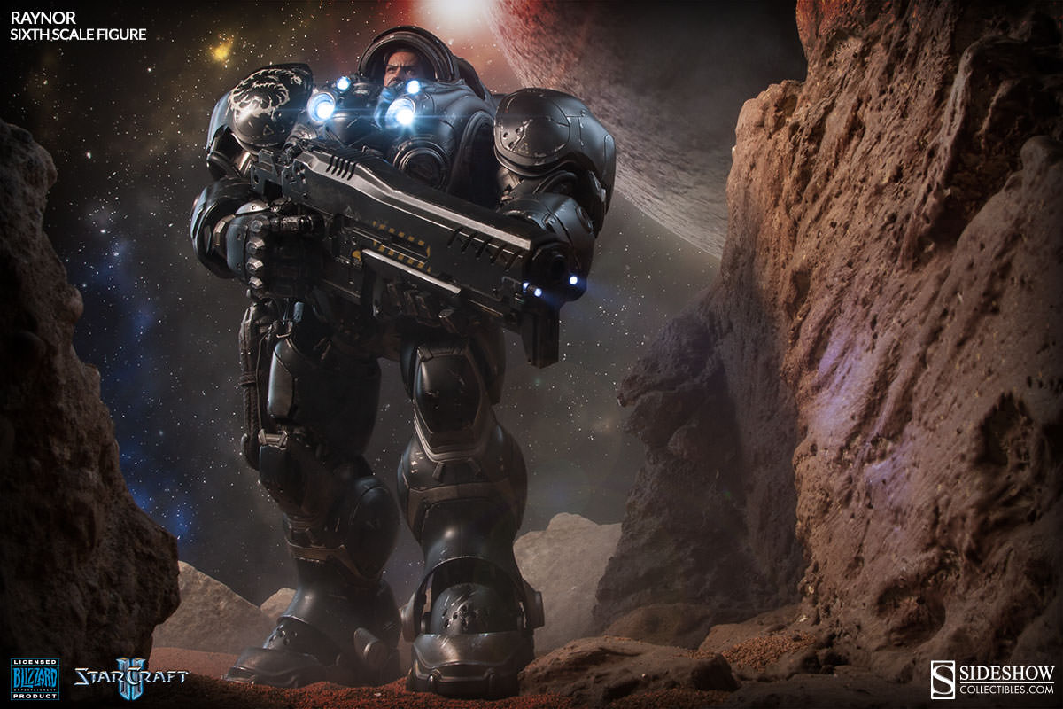 Starcraft Raynor Sixth Scale Figure by Sideshow Collectibles
