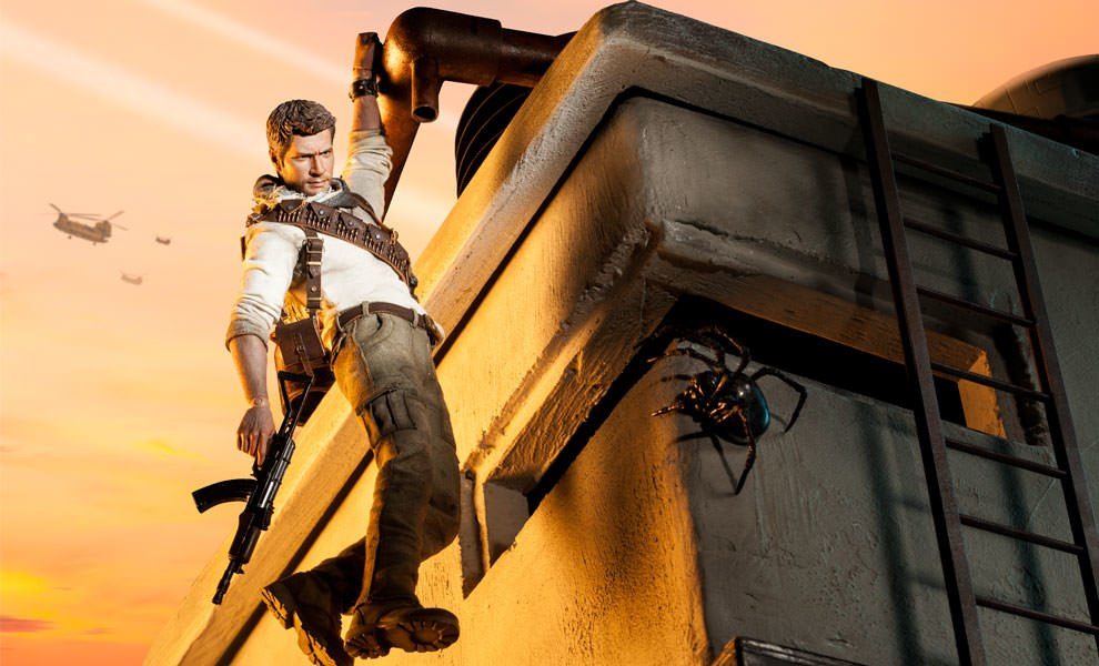 Gallery Feature Image of Nathan Drake Sixth Scale Figure - Click to open image gallery