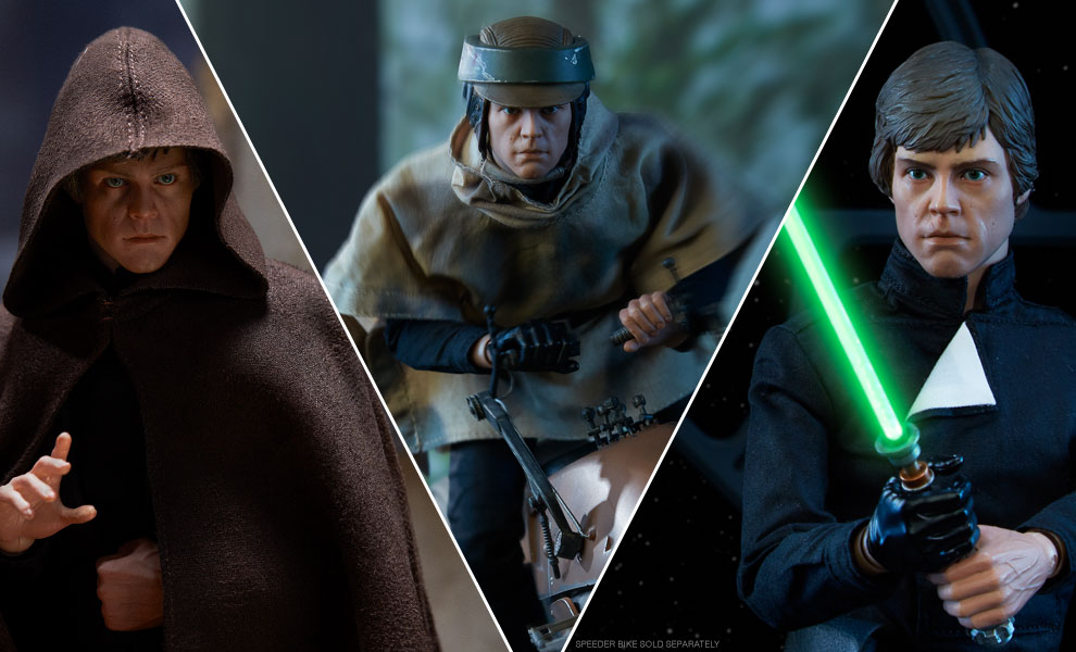Gallery Feature Image of Luke Skywalker Deluxe Sixth Scale Figure - Click to open image gallery