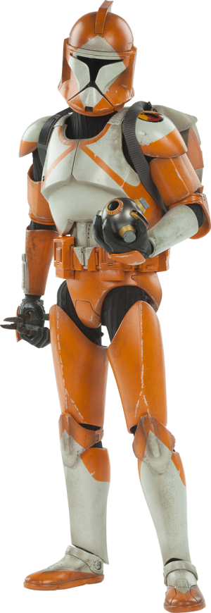 Bomb Squad Clone Trooper: Ordnance Specialist Sixth Scale Figure