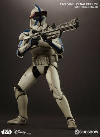 Gallery Image of Cad Bane in Denal Disguise Sixth Scale Figure
