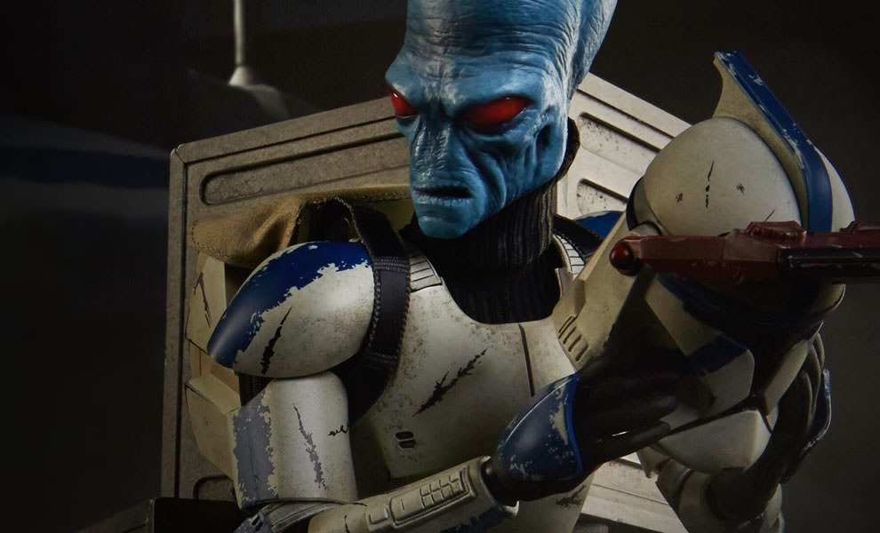 Gallery Feature Image of Cad Bane in Denal Disguise Sixth Scale Figure - Click to open image gallery