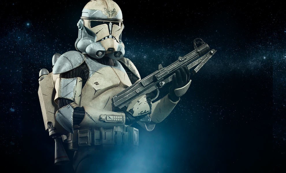 Gallery Feature Image of Wolfpack Clone Trooper: 104th Battalion Sixth Scale Figure - Click to open image gallery