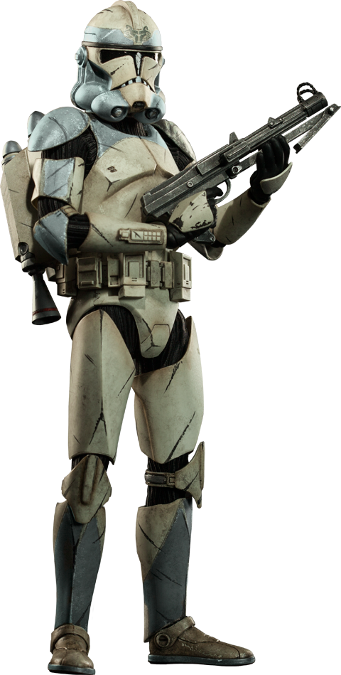 Sideshow Collectibles Wolfpack Clone Trooper: 104th Battalion Sixth Scale Figure