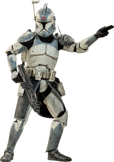 Sideshow Collectibles Clone Commander Wolffe Sixth Scale Figure