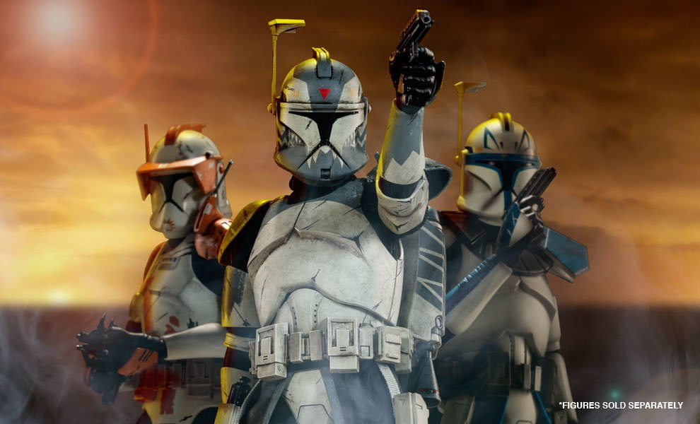 Gallery Feature Image of Clone Commander Wolffe Sixth Scale Figure - Click to open image gallery