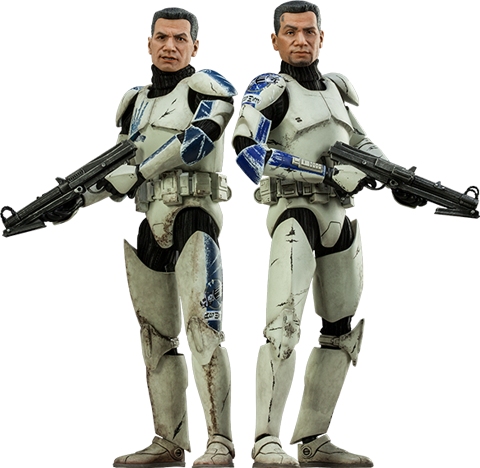 Sideshow Collectibles Clone Troopers: Echo and Fives Sixth Scale Figure