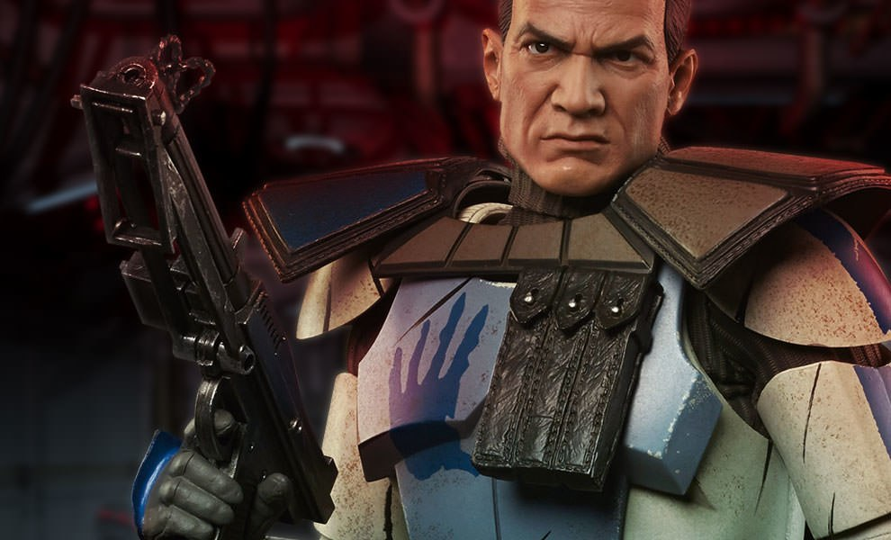 Gallery Feature Image of Arc Clone Trooper: Echo Phase II Armor Sixth Scale Figure - Click to open image gallery