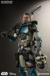 Gallery Image of Arc Clone Trooper: Fives Phase II Armor Sixth Scale Figure