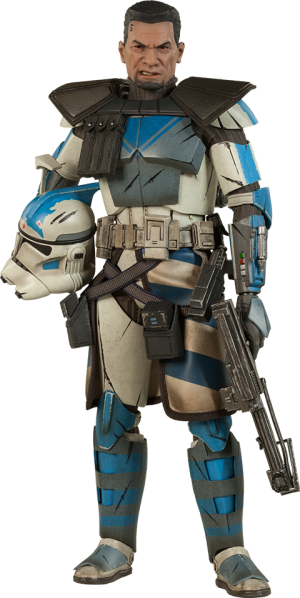 Arc Clone Trooper: Fives Phase II Armor Sixth Scale Figure