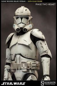 Gallery Image of Clone Trooper Deluxe: Veteran Sixth Scale Figure