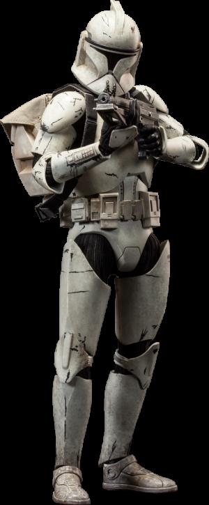 Clone Trooper Deluxe: Veteran Sixth Scale Figure