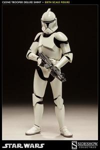 Gallery Image of Clone Trooper Deluxe: 'Shiny' Sixth Scale Figure