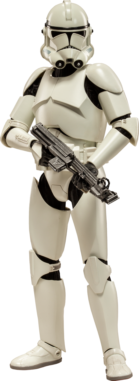 Sideshow Collectibles Clone Trooper Deluxe: 'Shiny' Sixth Scale Figure