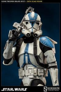 Gallery Image of Clone Trooper Deluxe: 501st Sixth Scale Figure
