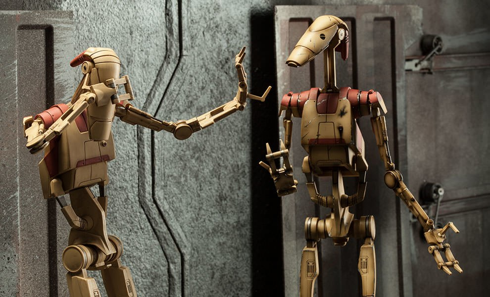 Gallery Feature Image of Security Battle Droids Sixth Scale Figure - Click to open image gallery