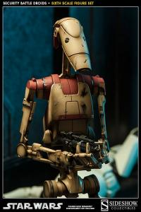 Gallery Image of Security Battle Droids Sixth Scale Figure