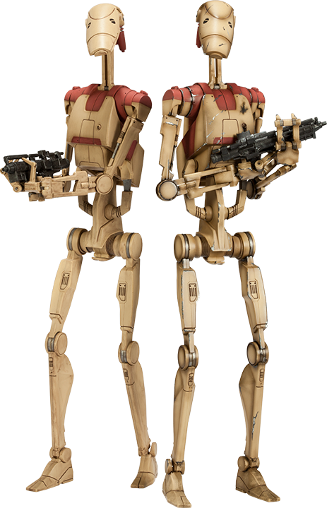 Star Wars Security Battle Droids Sixth Scale Figure by Sides ...