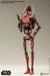 Gallery Image of Geonosis Infantry Battle Droids Sixth Scale Figure