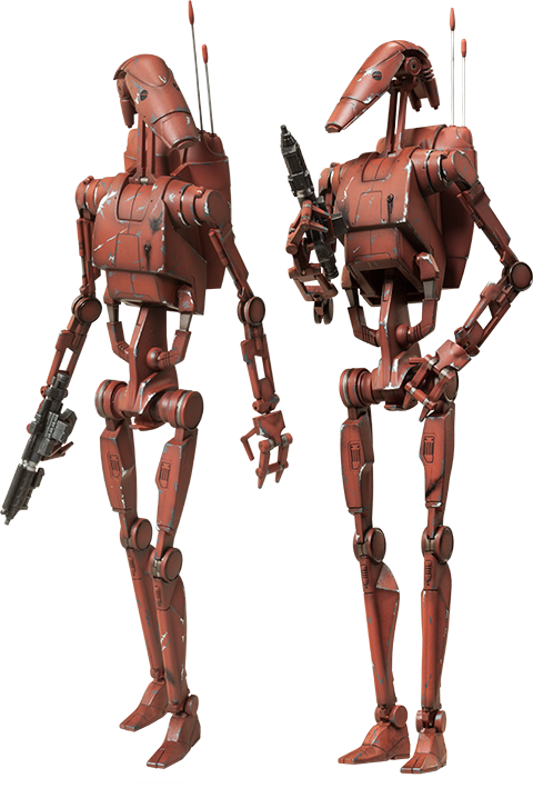 Sideshow Collectibles Geonosis Infantry Battle Droids Sixth Scale Figure