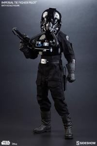 Gallery Image of Imperial TIE Fighter Pilot Sixth Scale Figure