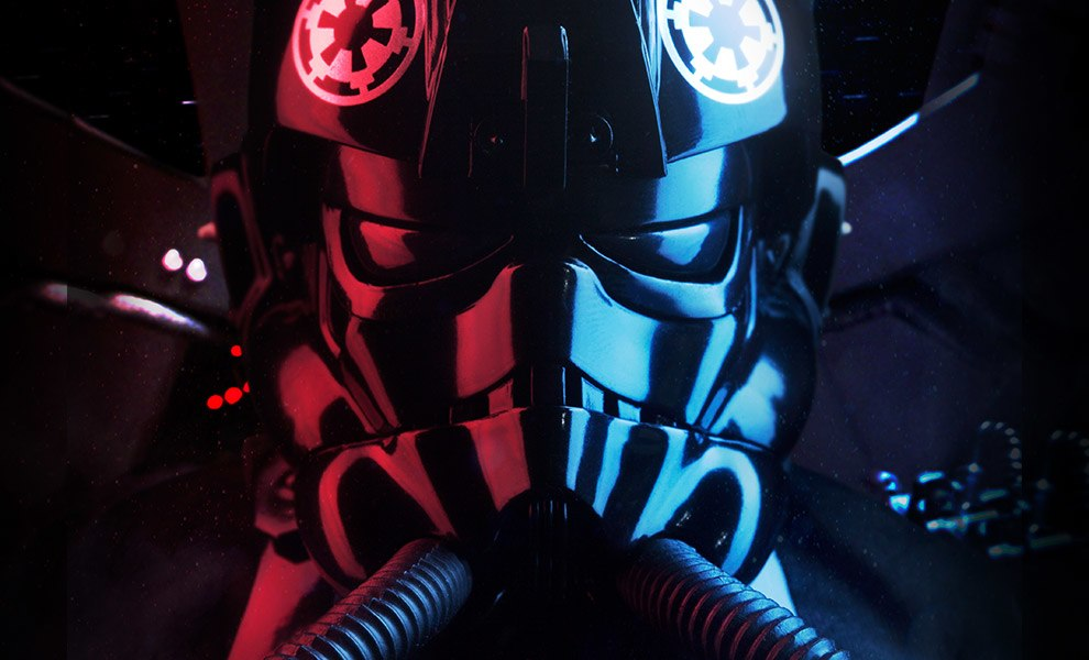 Gallery Feature Image of Imperial TIE Fighter Pilot Sixth Scale Figure - Click to open image gallery