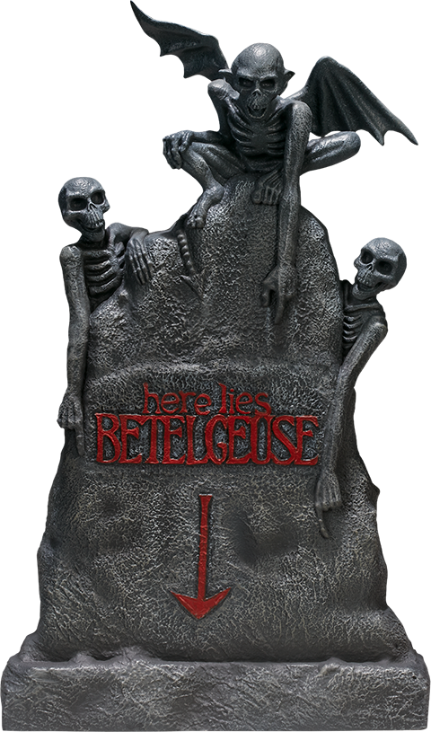Sideshow Collectibles Beetlejuice Tombstone Sixth Scale Figure Accessory