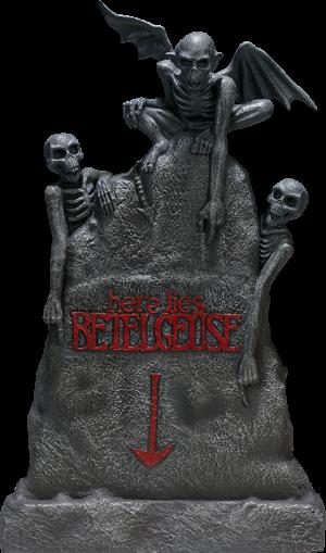 Beetlejuice Tombstone Sixth Scale Figure Accessory