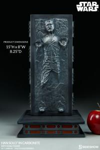 Gallery Image of Han Solo in Carbonite Sixth Scale Figure