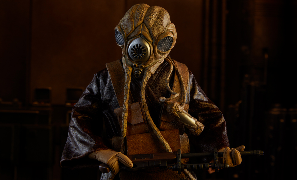 Gallery Feature Image of Zuckuss Sixth Scale Figure - Click to open image gallery