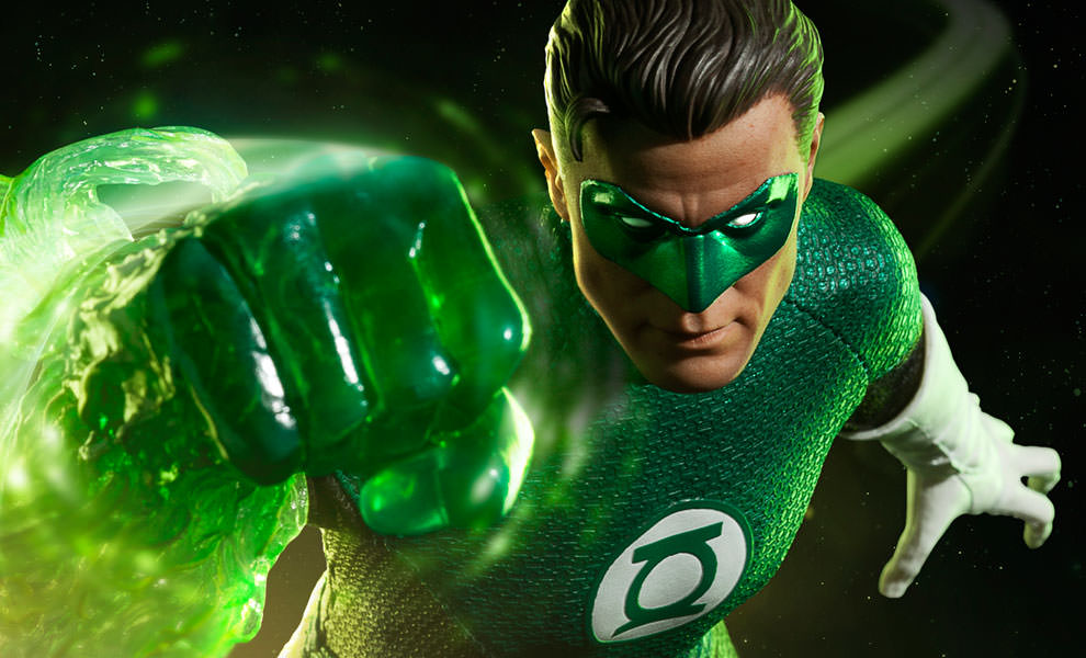 Gallery Feature Image of Green Lantern Sixth Scale Figure - Click to open image gallery