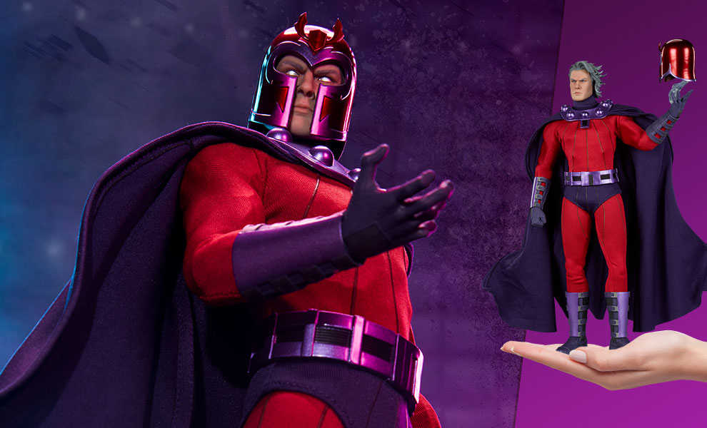 Gallery Feature Image of Magneto Sixth Scale Figure - Click to open image gallery