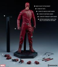 Gallery Image of Daredevil Sixth Scale Figure