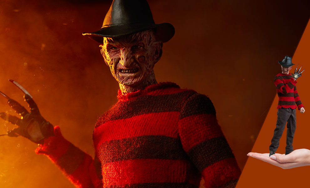 Gallery Feature Image of Freddy Krueger Sixth Scale Figure - Click to open image gallery