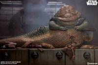 Gallery Image of Jabba the Hutt and Throne Deluxe Sixth Scale Figure