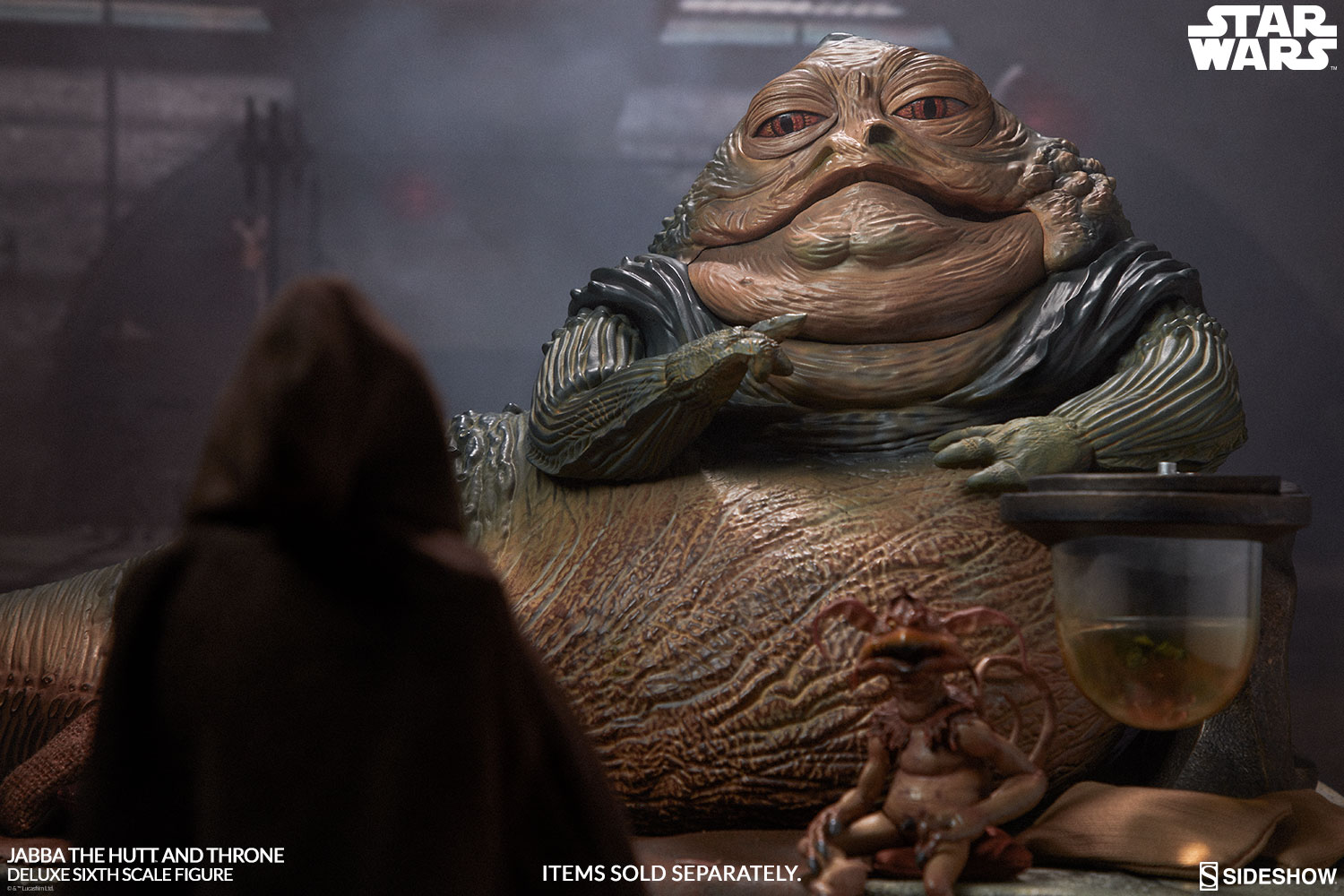 Jabba The Hutt and Throne Deluxe | Sideshow Collectibles