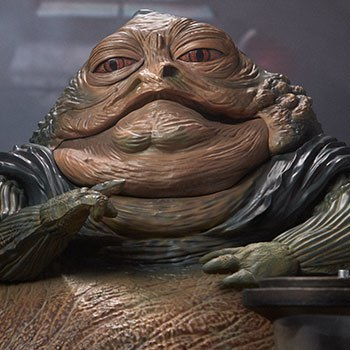 Jabba the Hutt and Throne Deluxe Star Wars Sixth Scale Figure