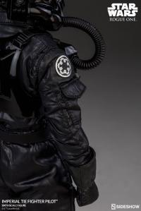 Gallery Image of TIE Pilot Sixth Scale Figure