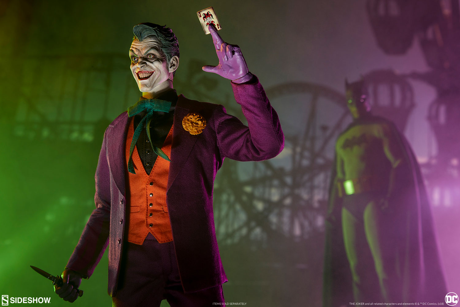 Dc Comics The Joker Sixth Scale Figure By Sideshow