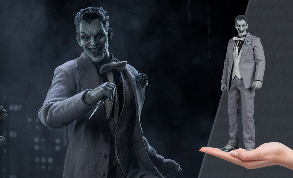 Gallery Feature Image of The Joker (Noir Version) Sixth Scale Figure - Click to open image gallery