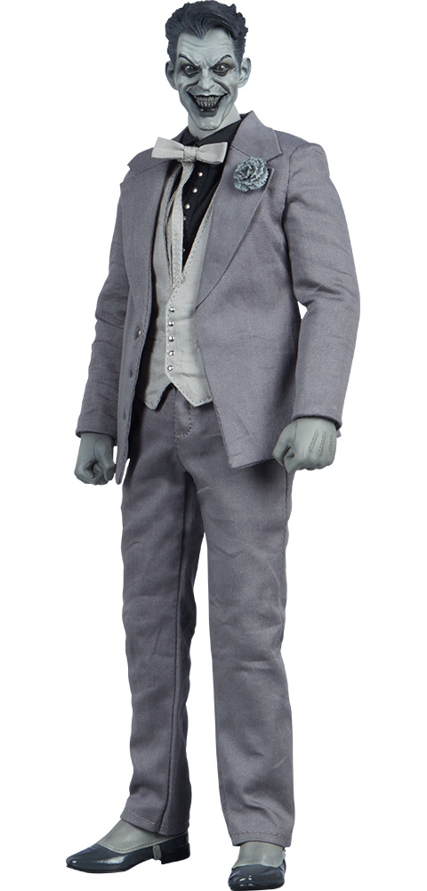 Sideshow Collectibles The Joker (Noir Version) Sixth Scale Figure