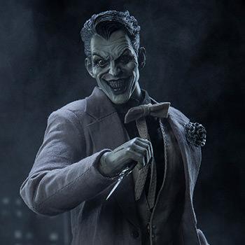 The Joker Noir One Sixth Scale Figure