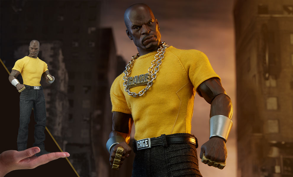 Gallery Feature Image of Luke Cage Sixth Scale Figure - Click to open image gallery