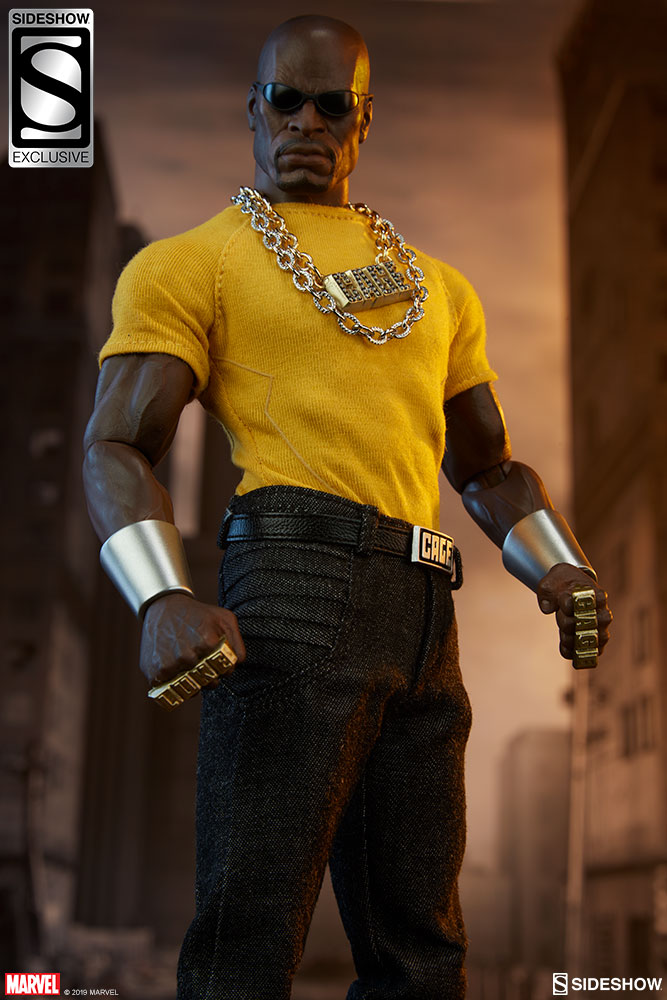 Marvel 500 Series 8 LUKE CAGE Yellow Shirt Figure
