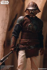 Gallery Image of Lando Calrissian (Skiff Guard Version) Sixth Scale Figure