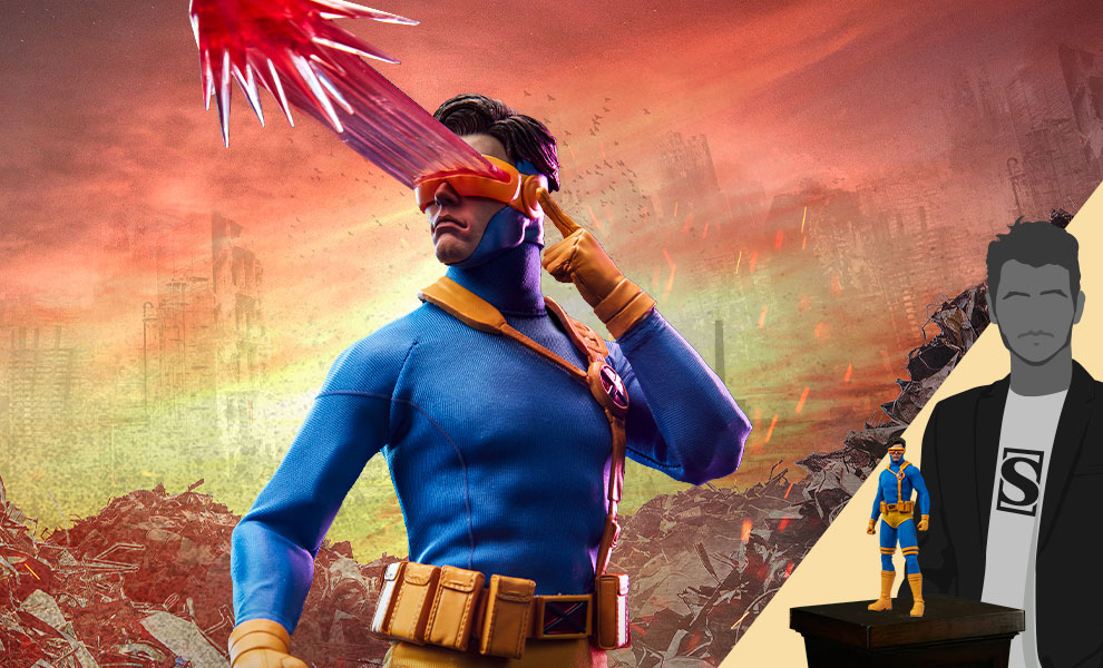 Gallery Feature Image of Cyclops Sixth Scale Figure - Click to open image gallery